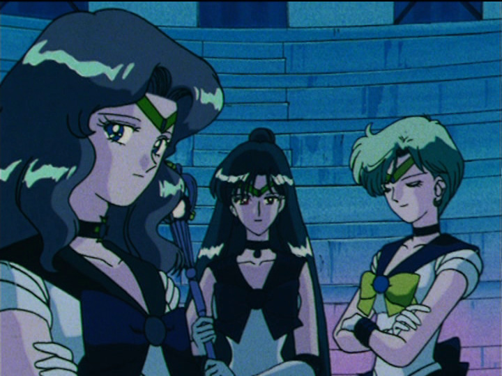 Sailor Moon S episode 113 - Sailor Neptune, Pluto and Uranus