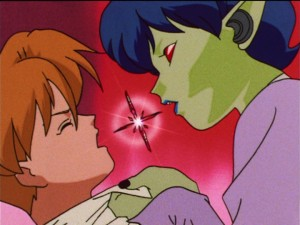 Sailor Moon S episode 114 - Daimon sucks Jinta Araki's Pure Heart out through his mouth