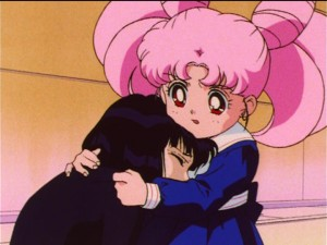 Sailor Moon S episode 115 - Hotaru and Chibiusa