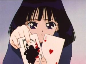 Sailor Moon S episode 118 - Hotaru picks the Joker