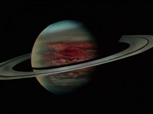 Sailor Moon S episode 119 - Saturn with Jupiter's Great Red Spot
