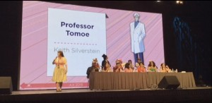 Keith Silverstein as the voice of Professor Tomoe
