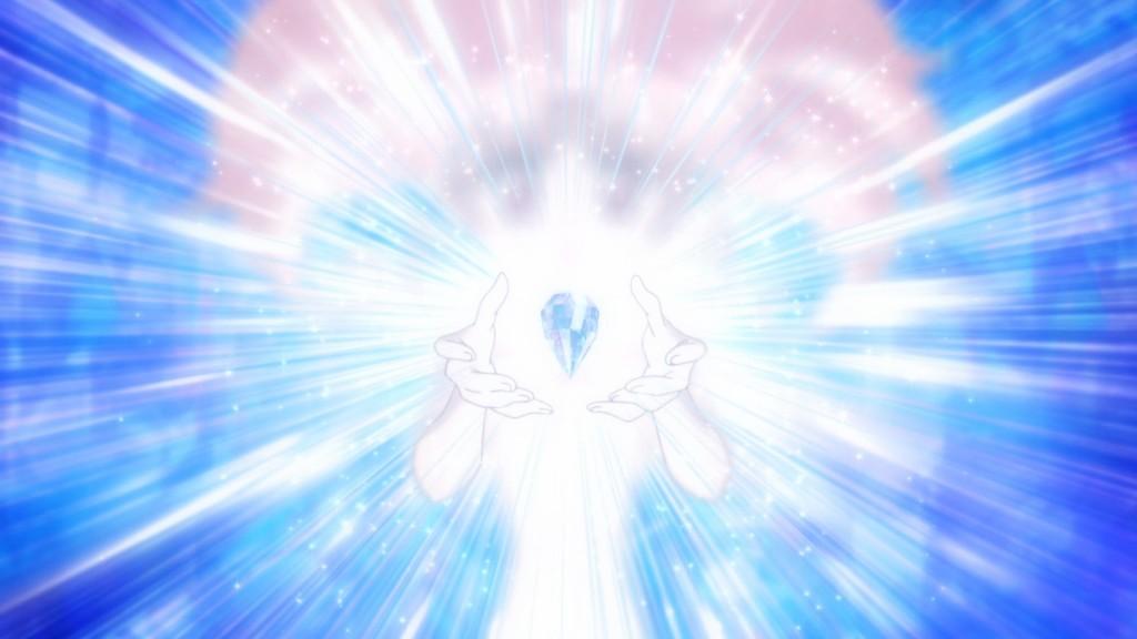 Sailor Moon Crystal Act 25 - Chibiusa transforms into Sailor Chibi Moon