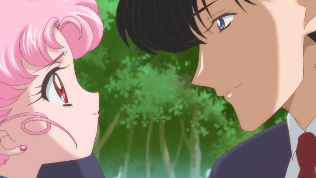 Sailor Moon Crystal Act 26 - Chibiusa and Mamoru