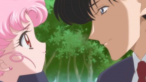 Sailor Moon Crystal Act 26 - Chibiusa and Mamoru