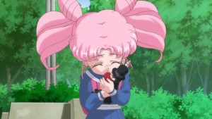 Sailor Moon Crystal Act 26 - Chibiusa is still crushing on Tuxedo Mask