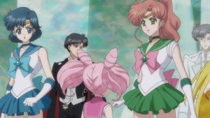 Sailor Moon Crystal Act 26 - Chibiusa is much taller