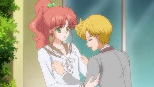 Sailor Moon Crystal Act 26 - Makoto and Ittou Asanuma