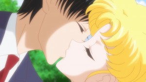 Sailor Moon Crystal Act 26 - Mamoru kisses Usagi