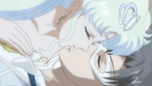 Sailor Moon Crystal Act 26 - Neo Queen Serenity kisses King Endymion
