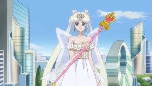 Sailor Moon Crystal Act 26 - Neo Queen Serenity with the Spiral Heart Moon Rod