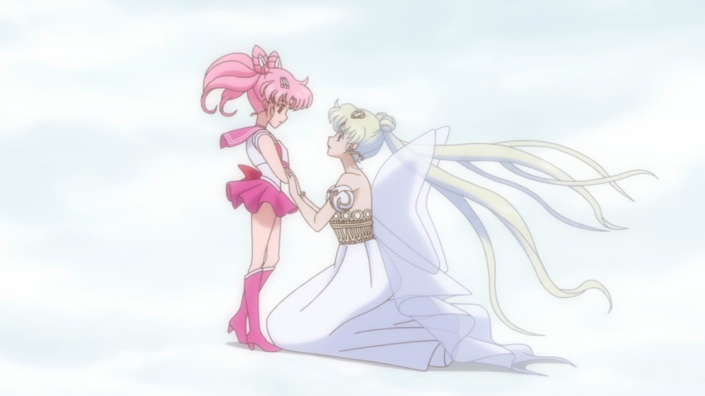Sailor Moon Crystal Act 26 - Sailor Chibi Moon and Neo Queen Serenity