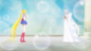 Sailor Moon Crystal Act 26 - Sailor Moon and Neo Queen Serenity do nothing to affect time