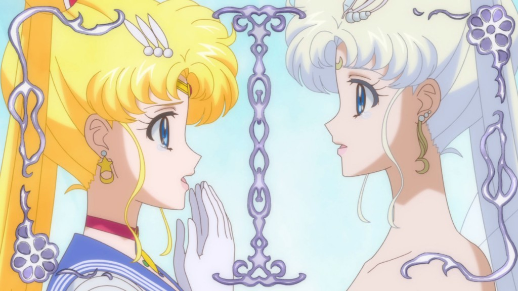 Sailor Moon Crystal Act 26 - Sailor Moon and Neo Queen Serenity meet