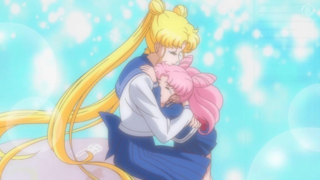 Sailor Moon Crystal Act 26 - Sailor Moon and Chibiusa
