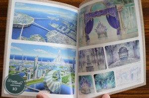 Sailor Moon Crystal Blu-Ray vol. 10 - Special Book - Pages 16 and 17 - Backgrounds