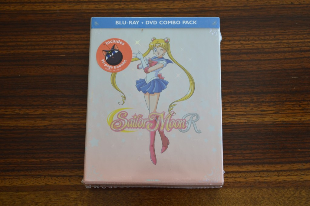 Sailor Moon R Part 1 Blu-Ray - Cover with sticker