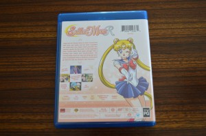 Sailor Moon R Part 1 Blu-Ray - Back