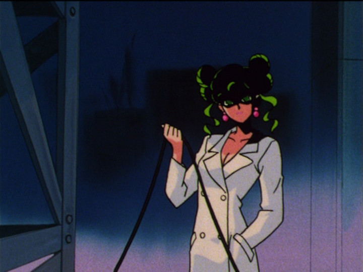 Sailor Moon S episode 120 - Tellu pulls the plug on Mimete