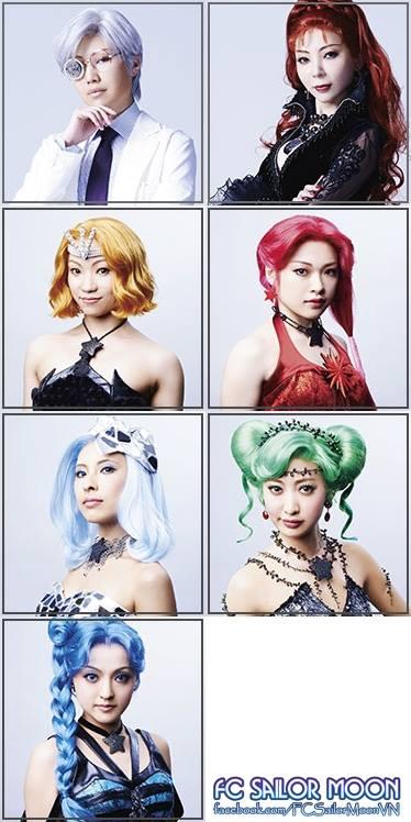 Sailor Moon Un Nouveau Voyage Musical - The Witches 5