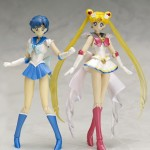 Super Sailor Mercury and Super Sailor Moon S. H. Figuarts