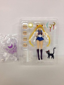 Zoisite as impostor Sailor Moon - S. H. Figuarts - SDCC Exclusive