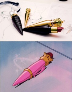 Christian Louboutin's lipstick looks like Sailor Moon's Disguise Pen