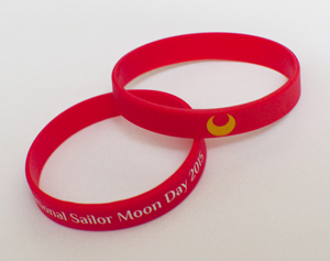 International Sailor Moon Day 2015 Wrist Bands