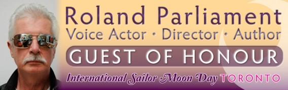 Roland Parliament - Guest of honour at the Sailor Moon Celebration