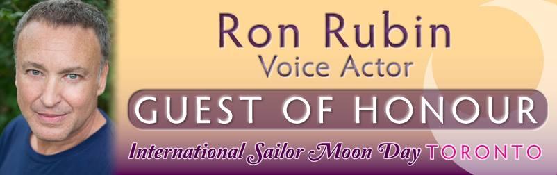 Ron Rubin - Guest of Honour - Sailor Moon Celebration