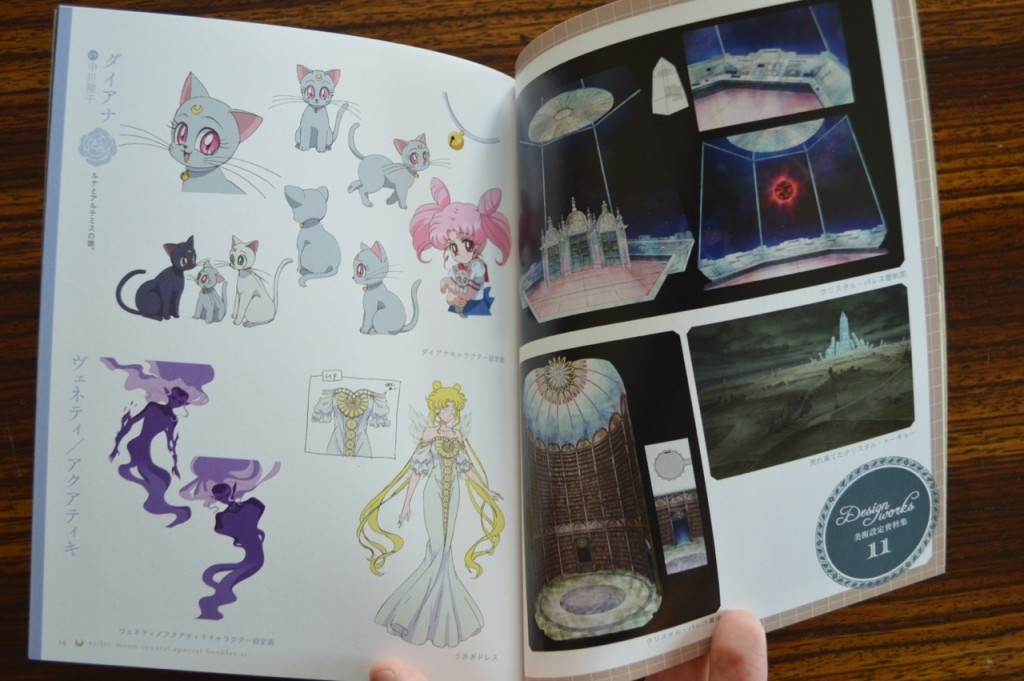 Sailor Moon Crystal Blu-Ray vol. 11 - Special Booklet - Pages 14 and 15 - Diana