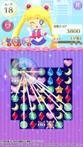 Sailor Moon Drops - Gameplay