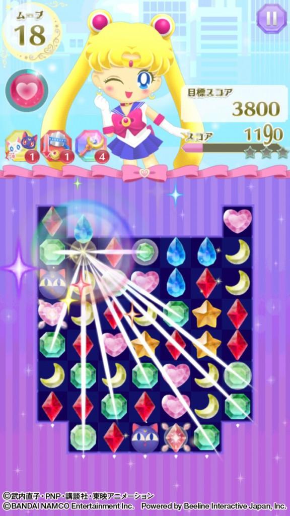 Sailor Moon Drops - Gameplay