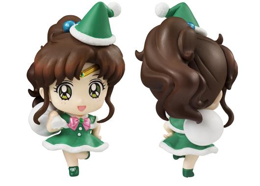Sailor Jupiter Petit Chara Christmas figure
