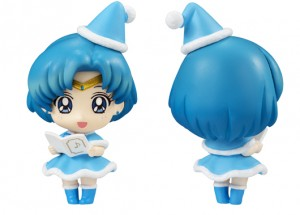 Sailor Mercury Petit Chara Christmas figure