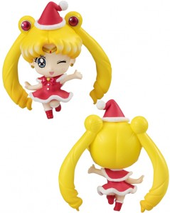 Sailor Moon Petit Chara Christmas figure