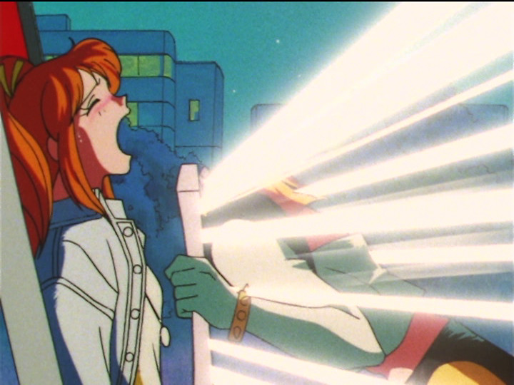 Sailor Moon SuperS episode 128 - Tigers' Eye looks for Pegasus in Unazuki's Mirror of Dreams