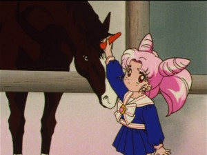 Sailor Moon SuperS episode 129 - Chibiusa describes Pegasus