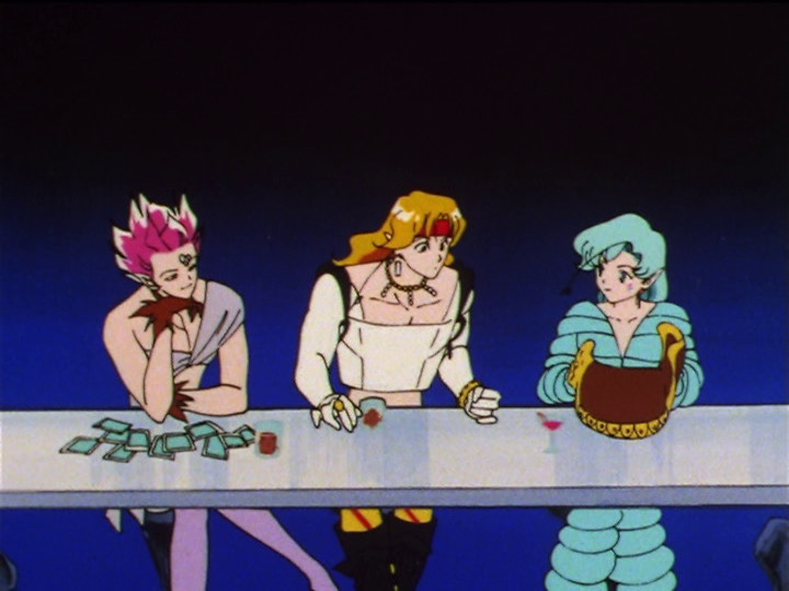 Sailor Moon SuperS episode 129 - The Amazon Trio - Hawks' Eye, Tigers' Eye and Fish Eye