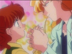 Sailor Moon SuperS episode 131 - Tiger's Eye hits on Naru