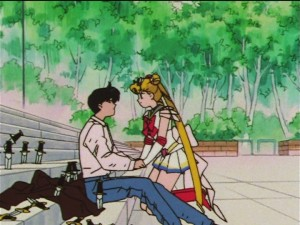 Sailor Moon SuperS episode 132 - Mamoru loves Sailor Moon