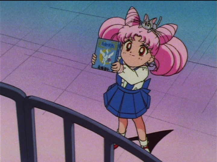 Sailor Moon SuperS episode 134 - Chibiusa sees Pegasus