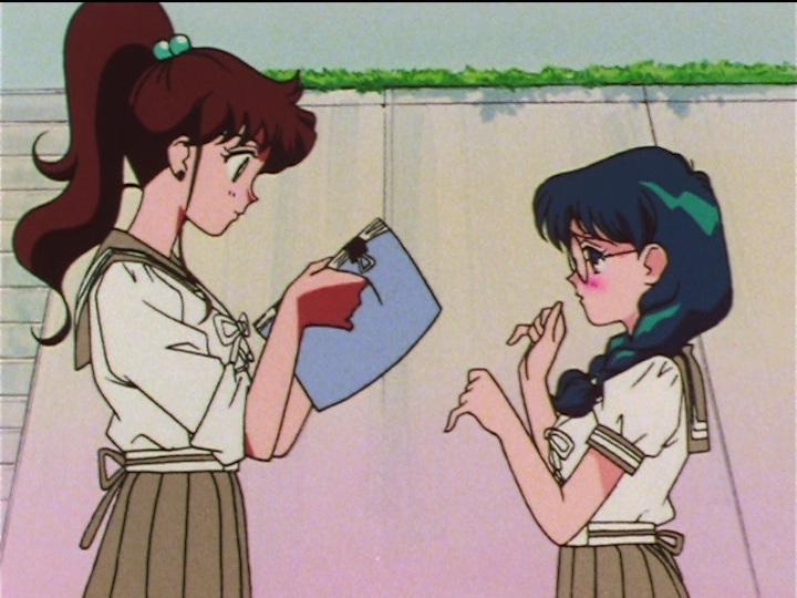 Sailor Moon SuperS episode 134 - Makoto and Tomoko