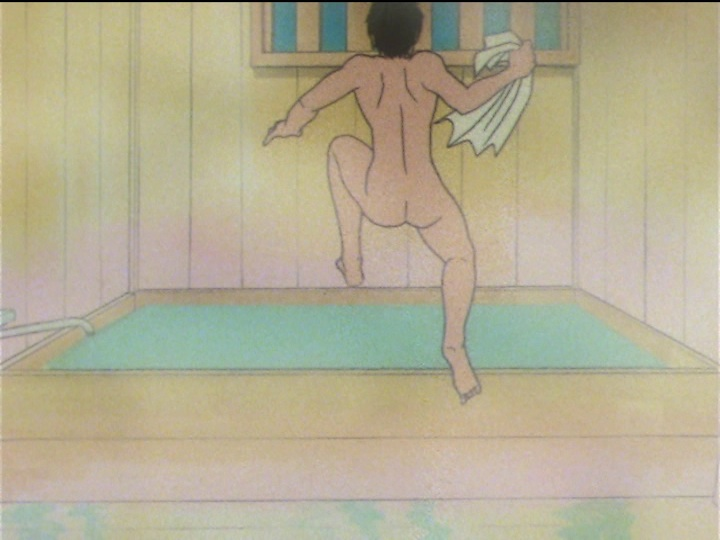 Sailor Moon SuperS episode 136 - Mamoru's butt