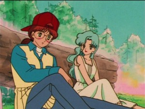 Sailor Moon SuperS episode 137 - Kitakata and Fish Eye