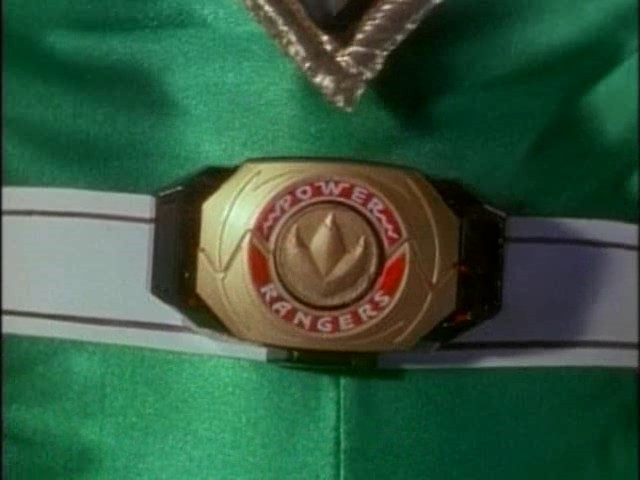 The Green Power Ranger's Power Morpher