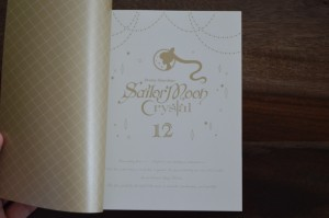 Sailor Moon Crystal Blu-Ray Vol. 12 - Special booklet - Page 1 - Title