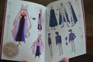 Sailor Moon Crystal Blu-Ray Vol. 12 - Special booklet - Pages 14 and 15 - Character designs