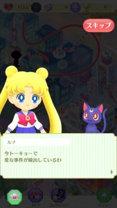 Sailor Moon Drops - Usagi and Luna