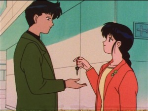 Sailor Moon SuperS episode 138 - Mamoru gets a key from Natsumi
